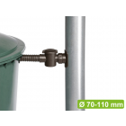 Rainwater diverter Speedy includes water butt connection, filter and hose.